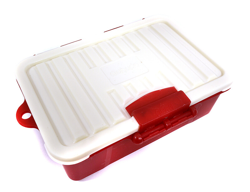 Integy Realistic Model Scale Plastic Luggage Storage Case 117x83x38mm  C29440RED