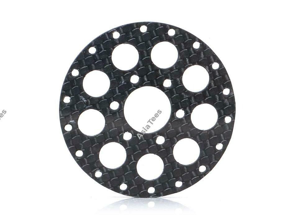 Boom Racing ProBuild™ CR6 Carbon Fiber Faceplate (1) Black BRPBF006CR6BK