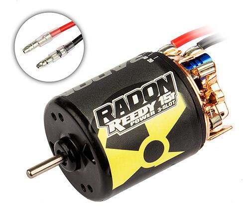 Reedy Radon 2 15T 3-Slot Brushed Motor (4100Kv) ASC27425
