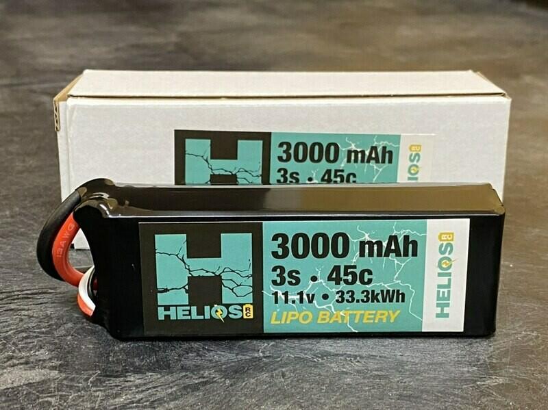 Helios 3S 3000 mAh 45c Lipo (XT60)