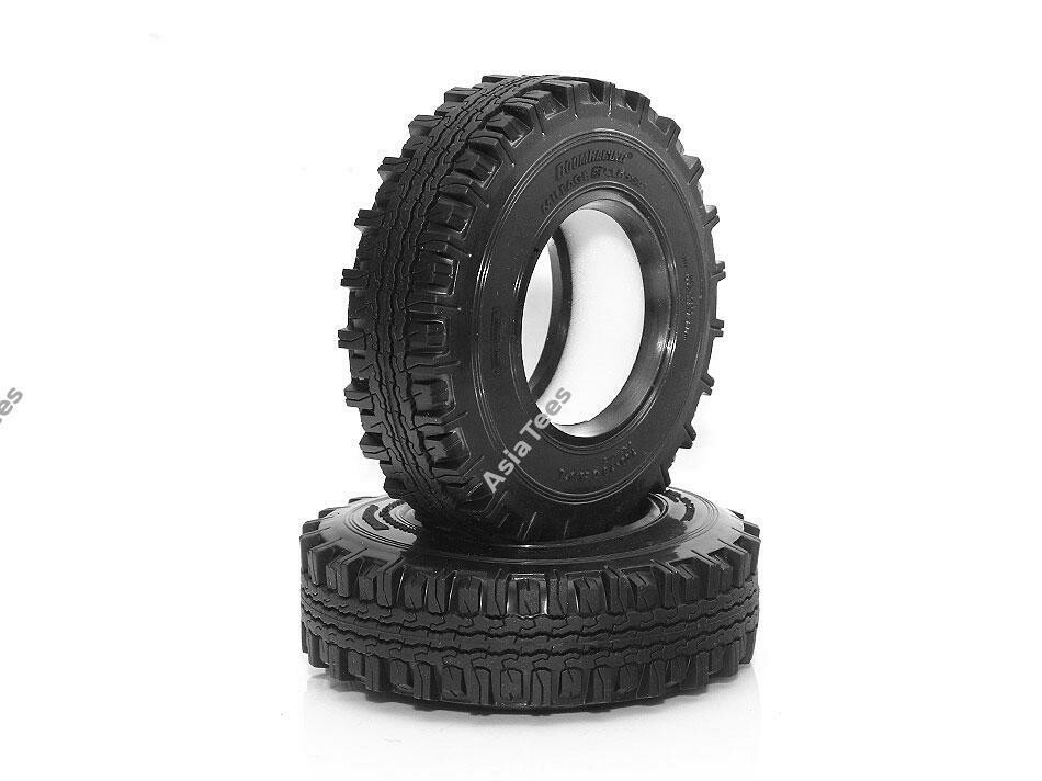 "Boom Racing 1.9"" Mileage Classic Scale Crawler Tire Gekko Compound 3.82""x1.0"" (97x26mm) (2) BRTR19006"