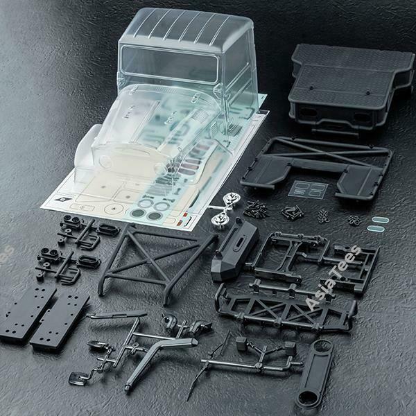 MST J45C Lexan Clear Body for Crawler MST/720009