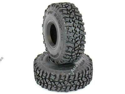 Pit Bull Xtreme RC Rock Beast 1.55 Scale RC Tires (Alien Kompound) W/ Foam 3.85x1.35 2Pcs PB9013AK