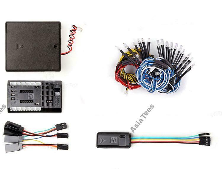 GRC Wireless Linkage Light Control System for RC Crawler & Drift GRC/G150S