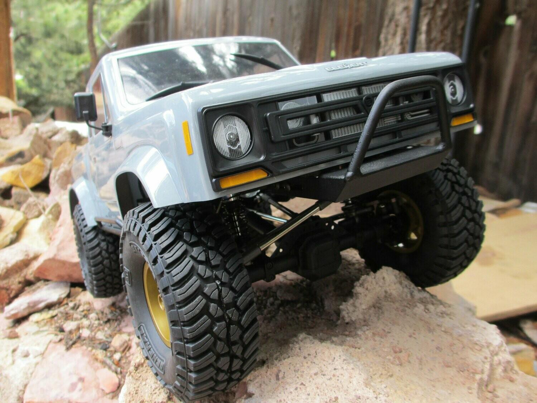 Scalerfab Comp-Style Bull Bar Front Bumper for Element RC Enduro Sendero, Sendero HD & Trailwalker