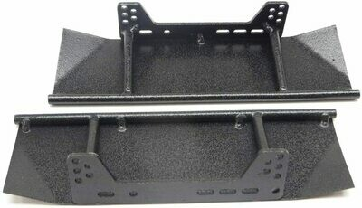 Scalerfab SCX10/SCX10 II Rock Sliders w/ Skid Plates