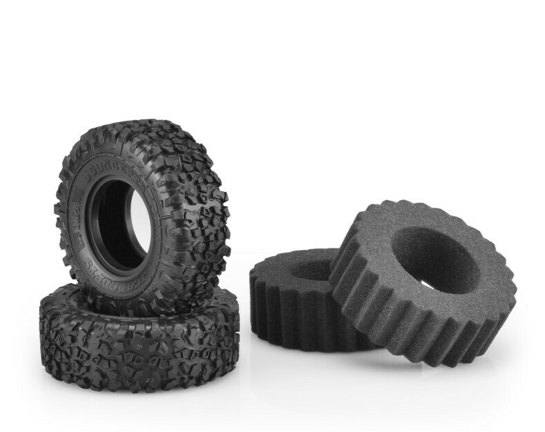 """Jconcepts Landmines, Green Compound, 1.9"""" (4.19"""" O.D.) Scale Country Tires JCO316402"""