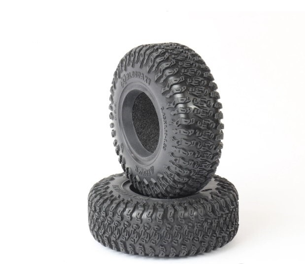 "Pitbull Braven Bloodaxe 3.45x1.11-1.55"" Scale Tires, Alien Kompound (Super Soft), w/ Foams (2) PBTPB9022AK"