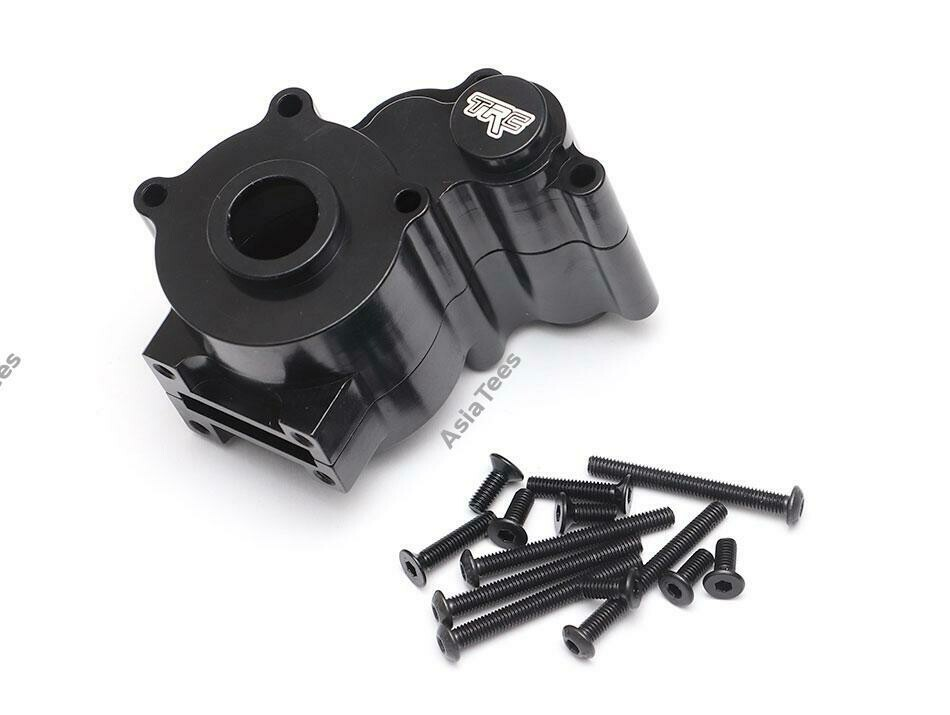 Team Raffee Co. Aluminum Gearbox Set Black for Element RC Enduro TRC/1059003BK