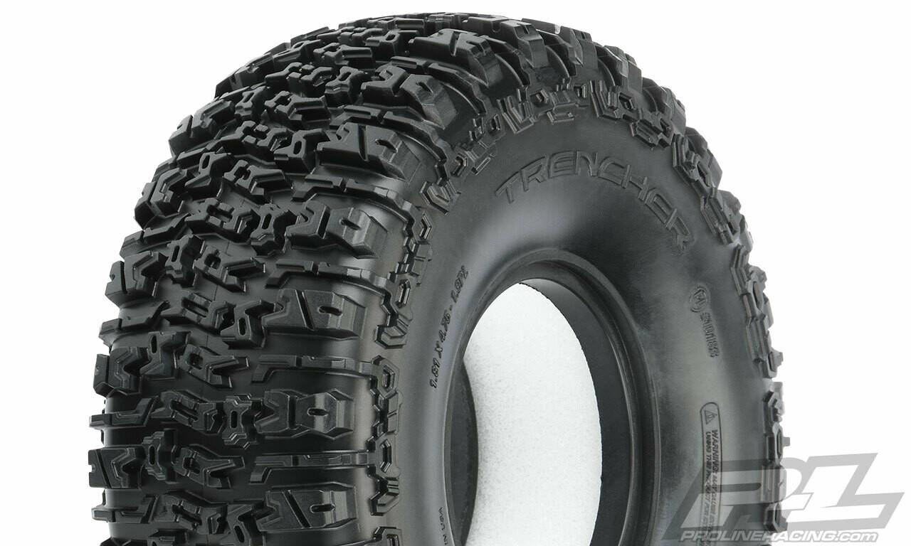 "Pro-Line Trencher 1.9"" Rock Terrain Rock Crawler Tires (2) (Predator) PRO10183-03"