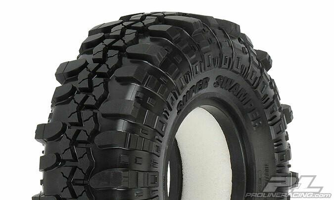 "Pro-Line Interco TSL SX Super Swamper 1.9"" Rock Crawler Tires (2) (G8) w/Memory Foam PRO1163-14"