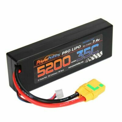 Powerhobby 2s 7.4v 5200mah 35c Lipo Battery (XT90)