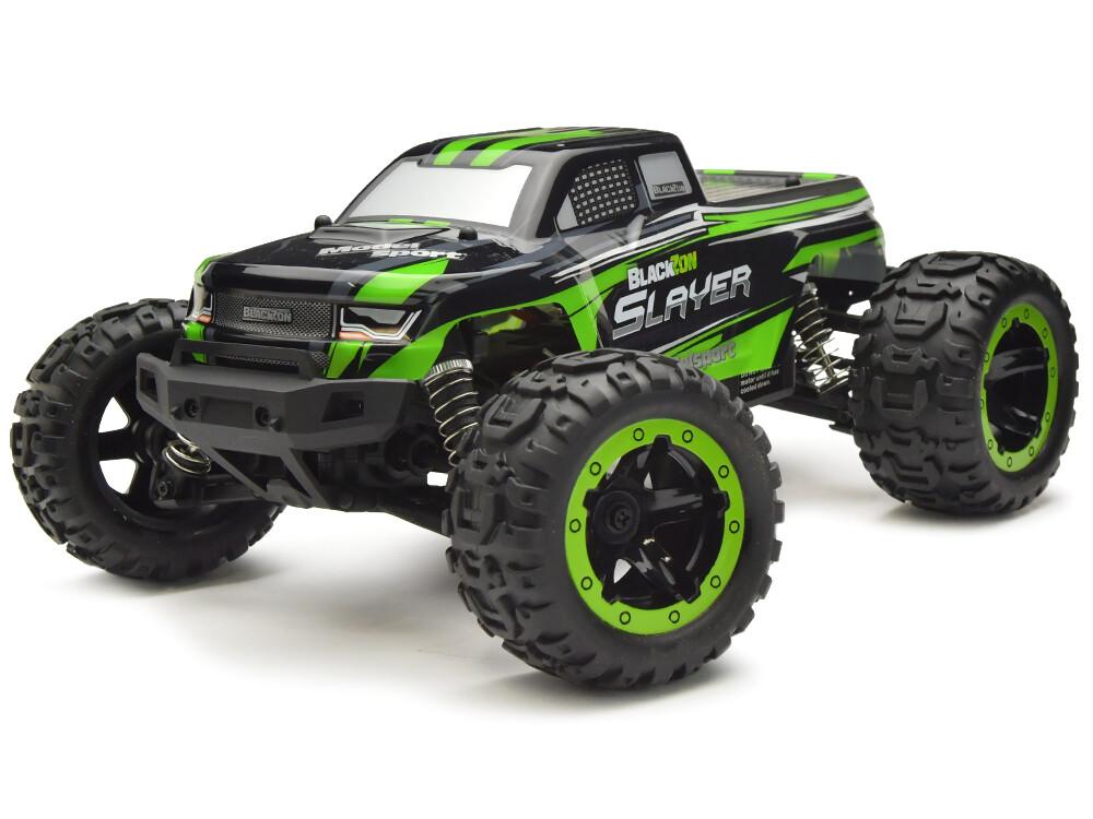 Blackzon Slayer 1/16th RTR 4WD Monster Electric Truck- Green BZN540000