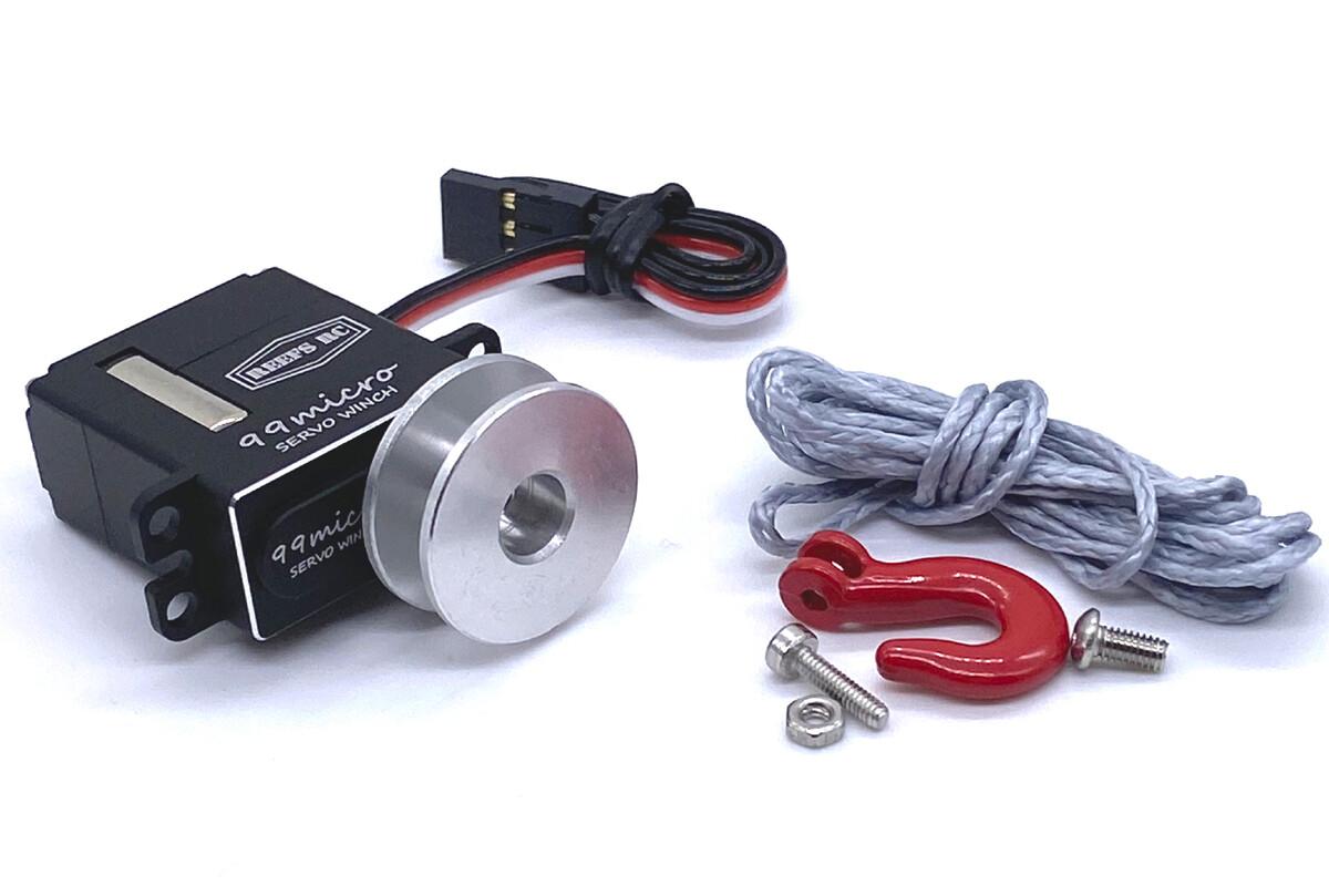 Reefs 99Micro High Torque Digital Coreless Servo Winch, Includes Micro Spool w/ Synthetic Line SEHREEFS83