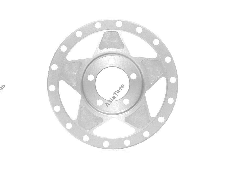 Boom Racing ProBuild™ Alum RTS Faceplate (1) Flat Silver BRPBF010RTSFS