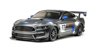 Tamiya 1/10 RC Ford Mustang GT4 Race Car Kit, w/ TT-02 Chassis TAM58664