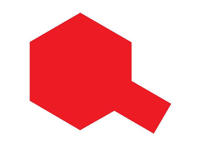 Tamiya PS-2 Red Spray Paint, 100ml Spray Can TAM86002