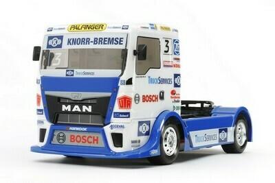 Tamiya Team Hahn Racing MAN TGS TT01 Type E 1/10 On-Road Kit TAM58632