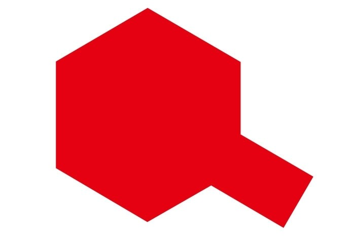 Tamiya PS-60 Mica Red Aerosol Paint, 100ml Spray Can TAM86060
