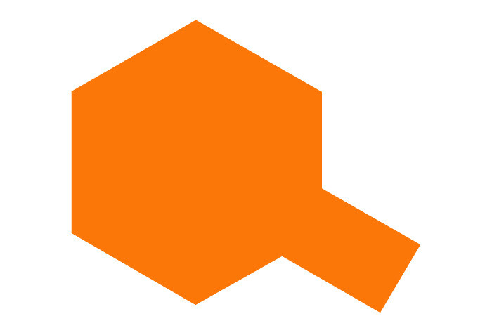 Tamiya PS-62 Pure Orange Spray Paint, 100ml Can TAM86062