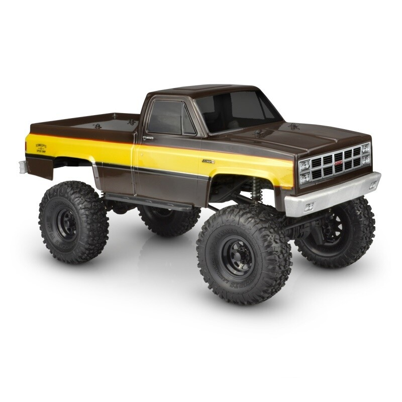 "Jconcepts 1982 GMC K10 Body, fits 12.3"" Wheelbase JCO0363"
