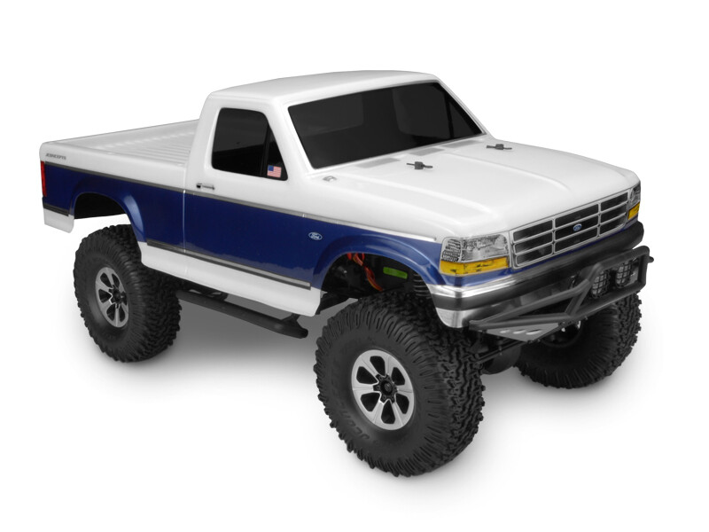 Jconcepts 1993 Ford F-250 Clear Body for Trail/Scale Crawlers JCO0313