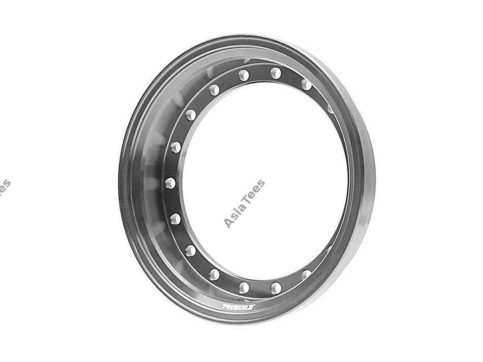 Boom Racing ProBuild™ Alum 7.5mm Wheel Barrel (1) Gun Metal BRPROB-01GM