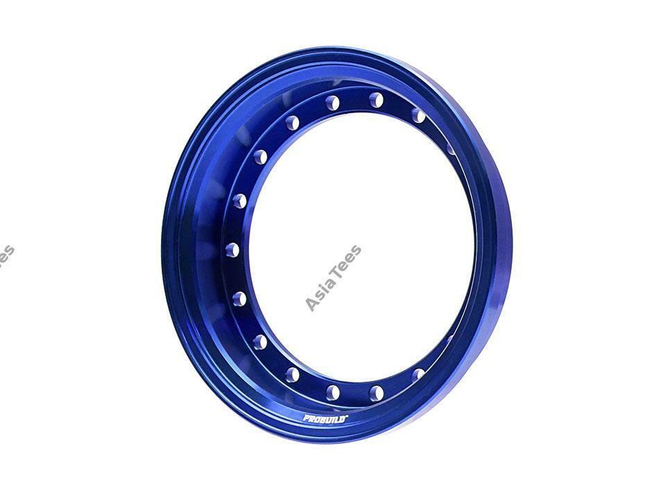 Boom Racing ProBuild™ Alum 7.5mm Wheel Barrel (1) Blue BRPROB-01B