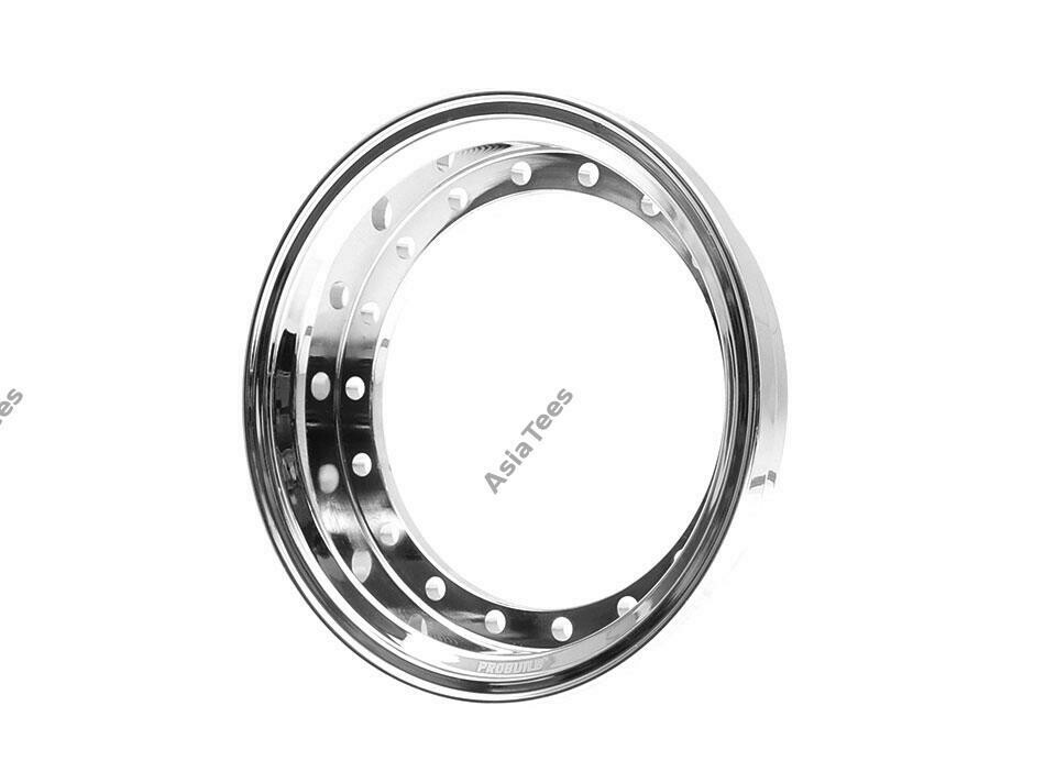 Boom Racing ProBuild™ Alum 7.5mm Wheel Barrel (1) Chrome BRPROB-01CR