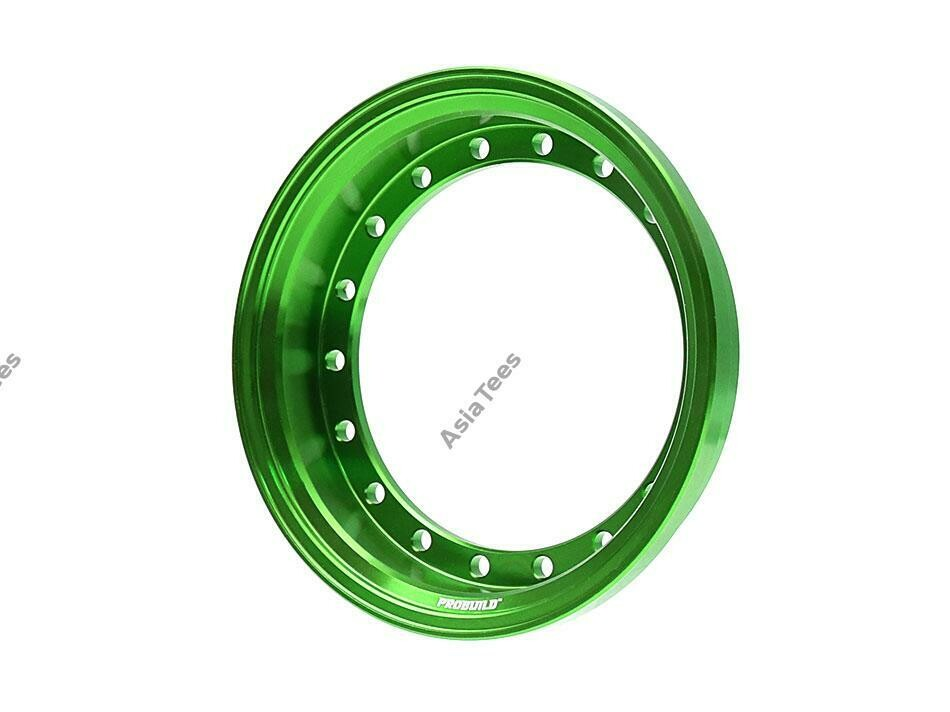 Boom Racing ProBuild™ Alum 7.5mm Wheel Barrel (1) Green BRPROB-01G
