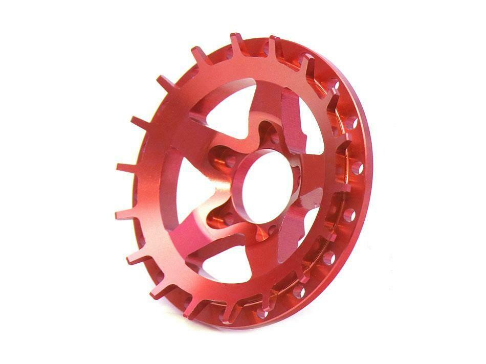 Boom Racing ProBuild™ Alum SS5 Faceplate (1) Red BRPBF008SS5R
