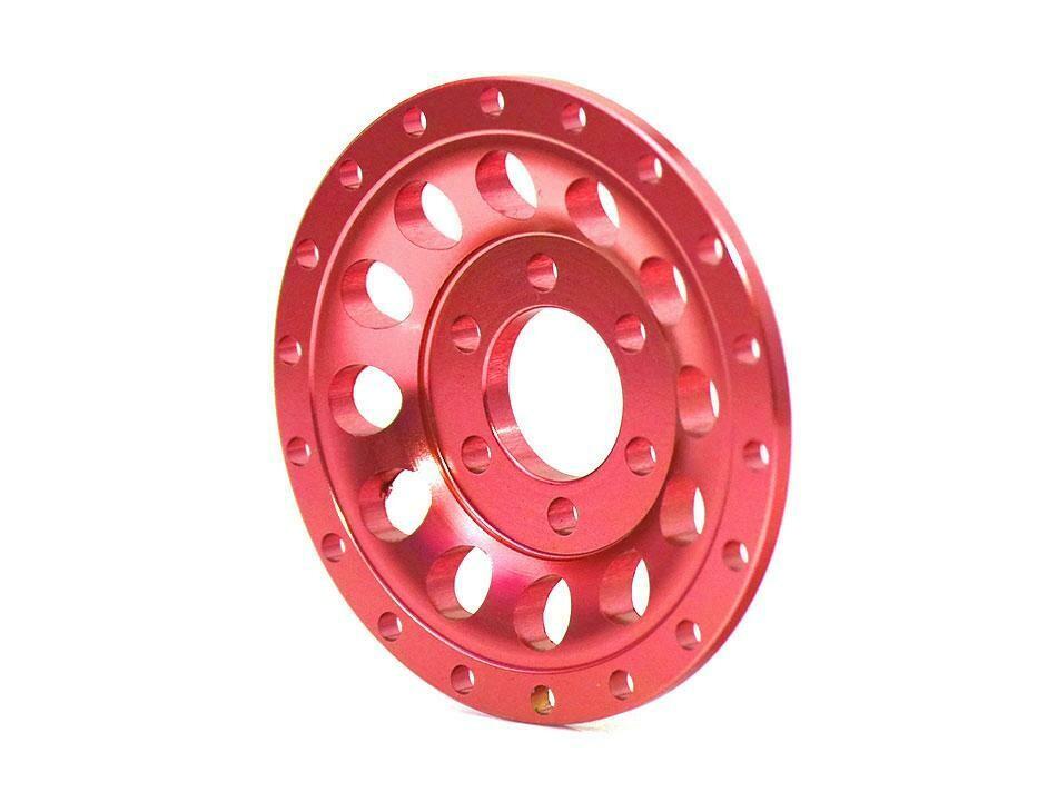 Boom Racing ProBuild™ Alum R12 Faceplate (1) Red BRPBF009R12R