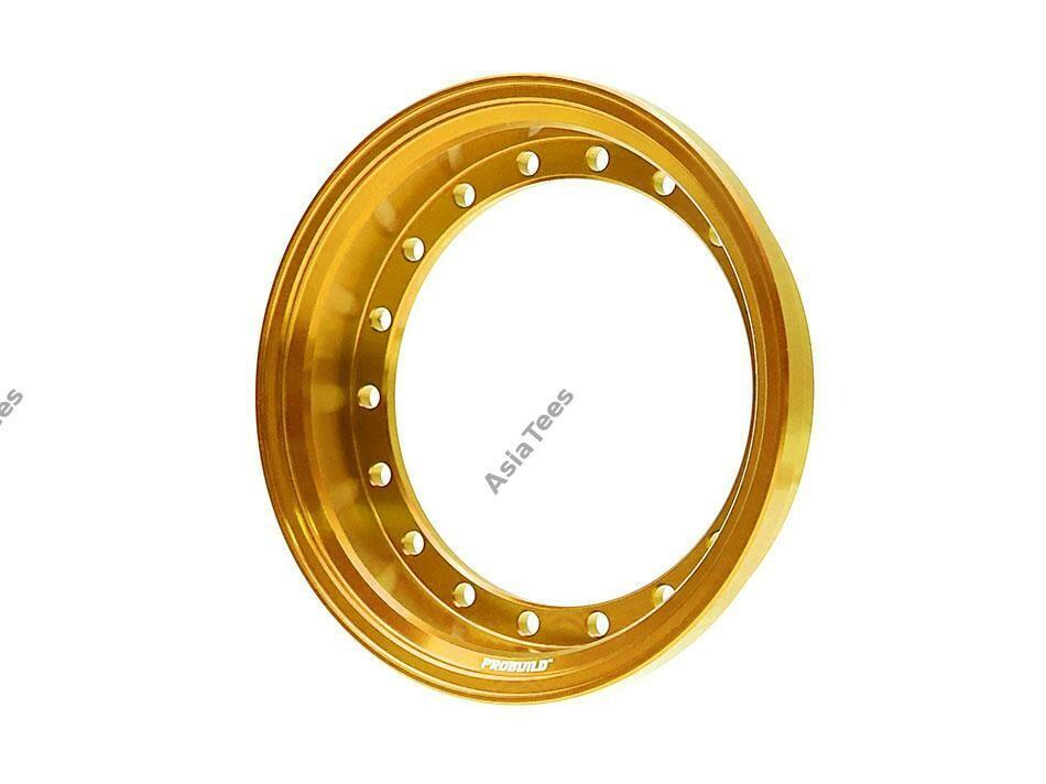 Boom Racing ProBuild™ Alum 7.5mm Wheel Barrel (1) Gold BRPROB-01GD