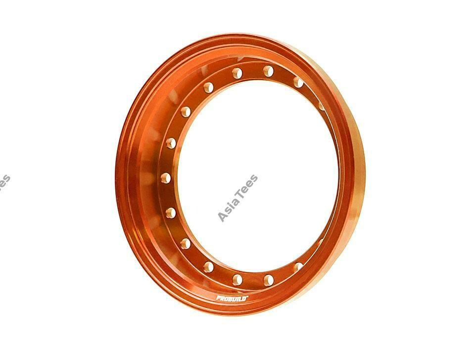 Boom Racing ProBuild™ Alum 7.5mm Wheel Barrel (1) Orange BRPROB-01OR