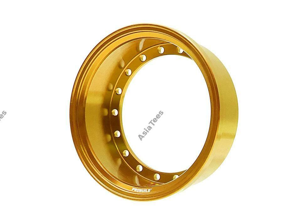 Boom Racing ProBuild™ Alum 15mm Wheel Barrel (1) Gold BRPROB-02GD