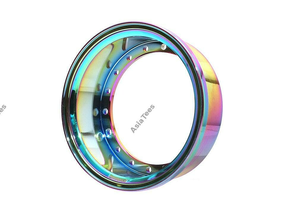 "Boom Racing ProBuild™ 1.9"" Alum 15mm Wheel Barrel (1) Neo Chrome BRPROB-02NEO"