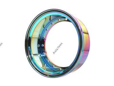 "Boom Racing ProBuild™ 1.9"" Alum 15mm Wheel Barrel (1) Neo Chrome BRPROB-02NEO"