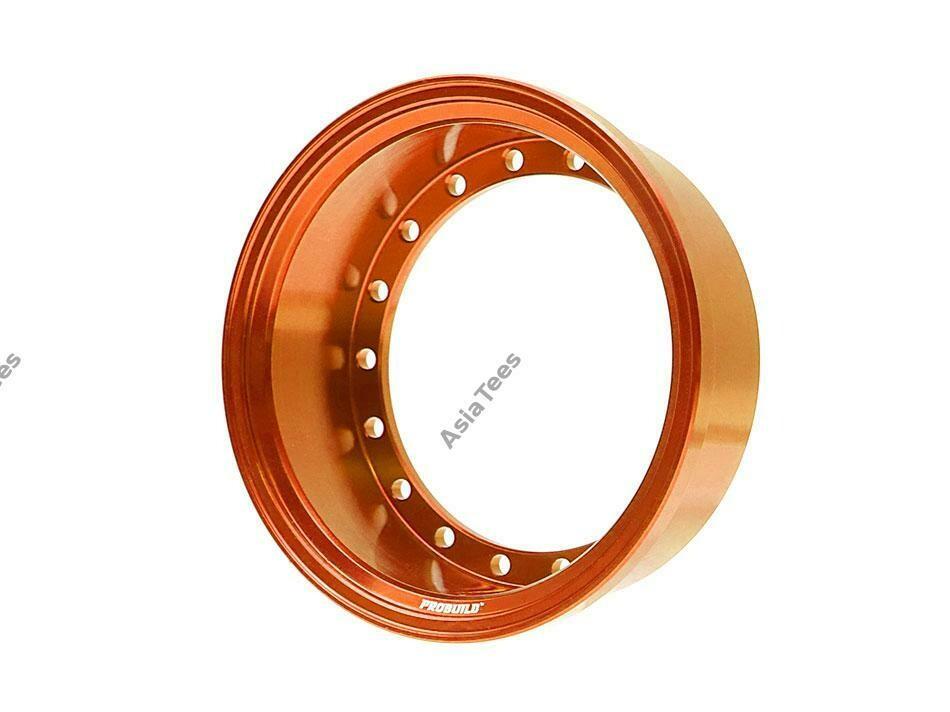 Boom Racing ProBuild™ Alum 15mm Wheel Barrel (1) Orange BRPROB-02OR