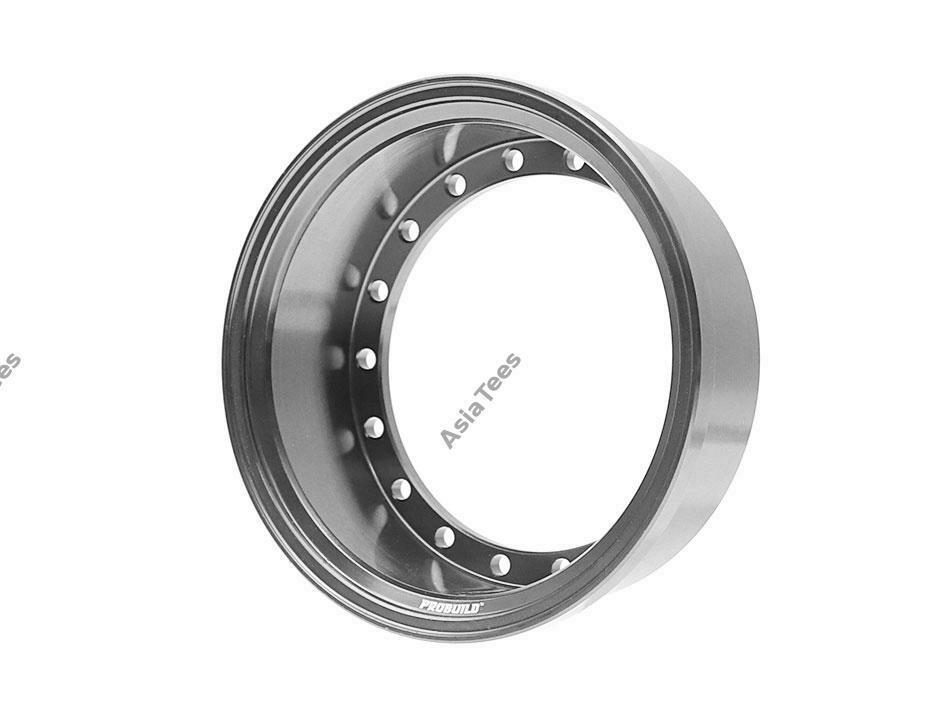 Boom Racing ProBuild™ Alum 15mm Wheel Barrel (1) Gun Metal BRPROB-02GM