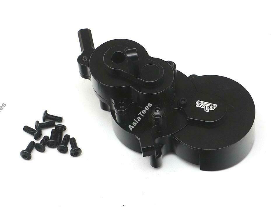 Team Raffee Co. Aluminum Gearbox Case Housing (1) Black for Redcat Gen8 Scout II TRC/1053009BK