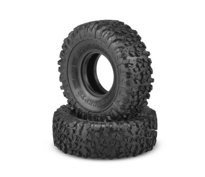 "JConcepts Landmines 1.9"" Performance Scale Crawler Tire, Green Force Compound JCO315602"