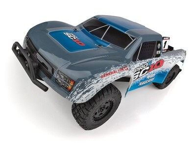 Associated Pro4 SC10 Off-Road 1/10 4WD Electric Short Course Truck RTR ASC20530