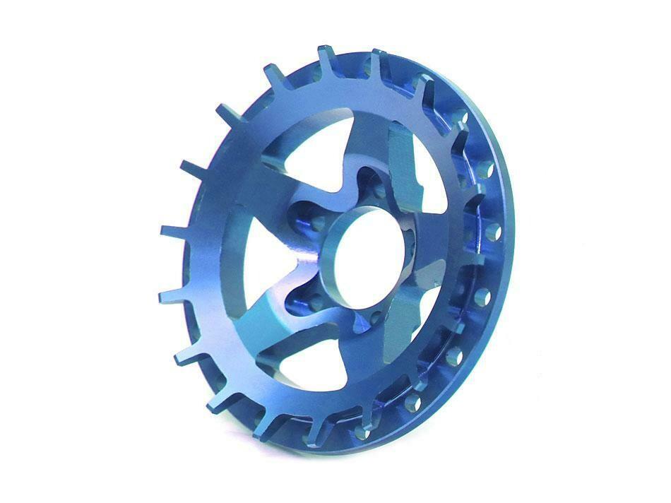 Boom Racing ProBuild™ Alum SS5 Faceplate (1) Blue BRPBF008SS5B