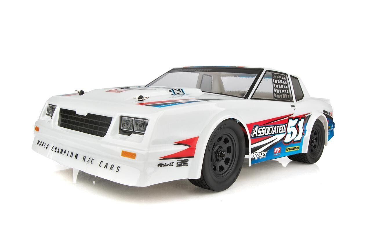 Associated SR10 Street Stock for Dirt Oval, 1/10 Brushless 2WD, RTR, w/ LiPo Battery & Charger ASC70030C