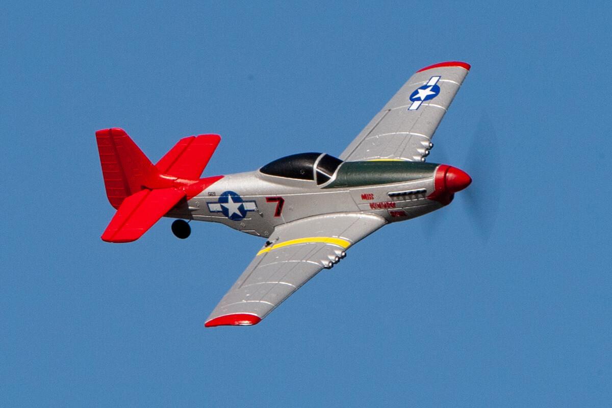 Rage R/C P-51D Mustang Micro RTF Airplane w/PASS RGRA1300