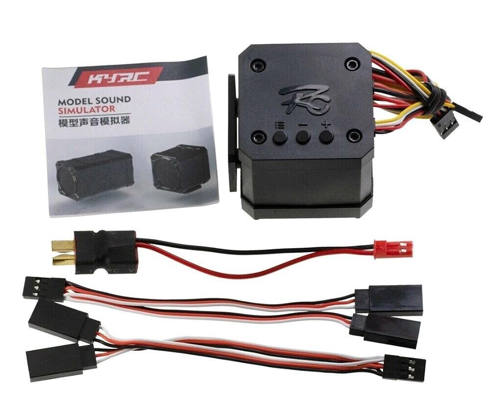 Integy Engine Sound Simulator+Brake/Shift/Valve/Horn & Special Sounds C30153