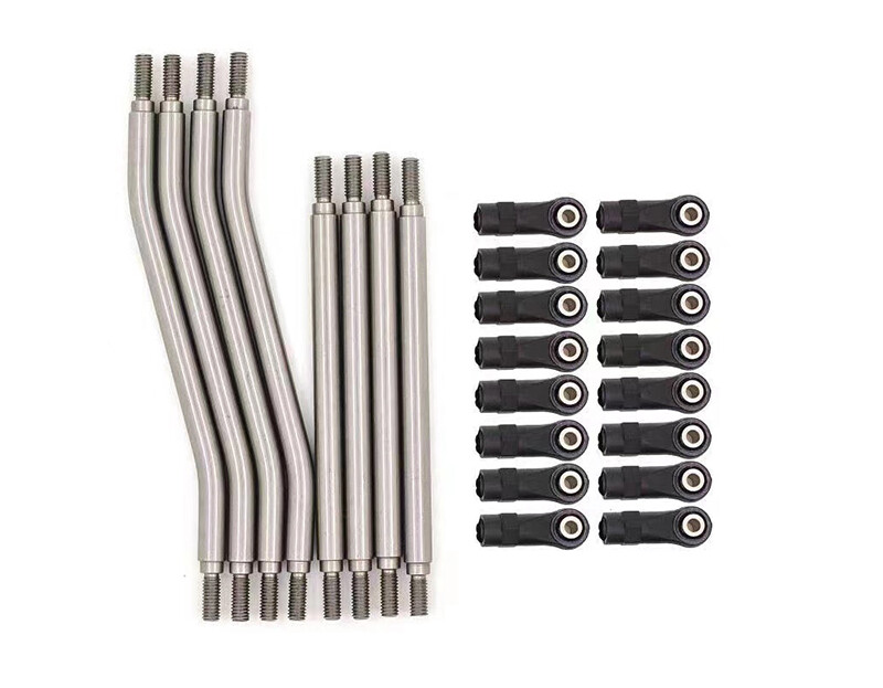 Integy Stainless LCG 6mm Steel Linkages for Axial 1/10 Capra 1.9 Unlimited Trail Buggy C30367