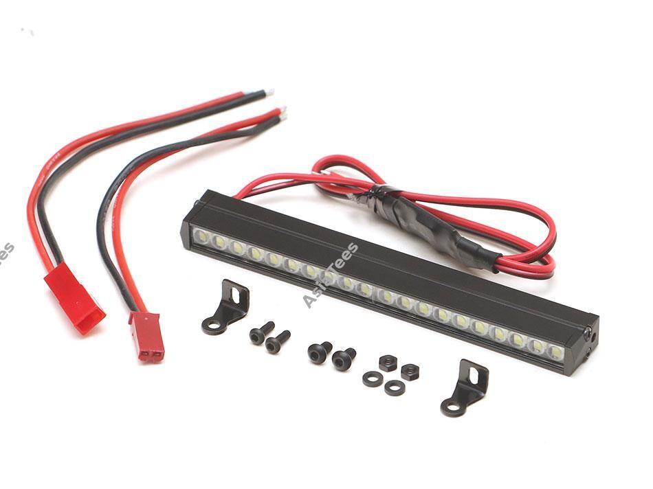 Boom Racing KUDU™ Waterproof Alum LED Light Bar Set (3S Capable) 95mm BRTLB95