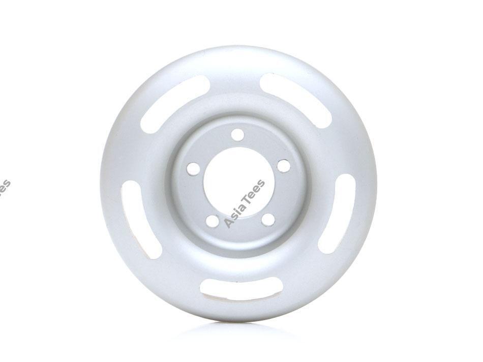 "Boom Racing ProBuild™ Alum ""Jelly Bean"" Slot Mags Faceplate (1) Flat Silver BRPBF012JBFS"