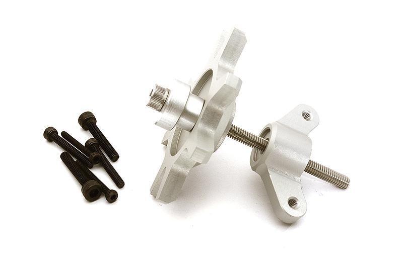 Integy 1.9 & 2.2 Size Beadlock Wheel Mounting Tool for 1/10 Scale Crawlers C28713SILVER